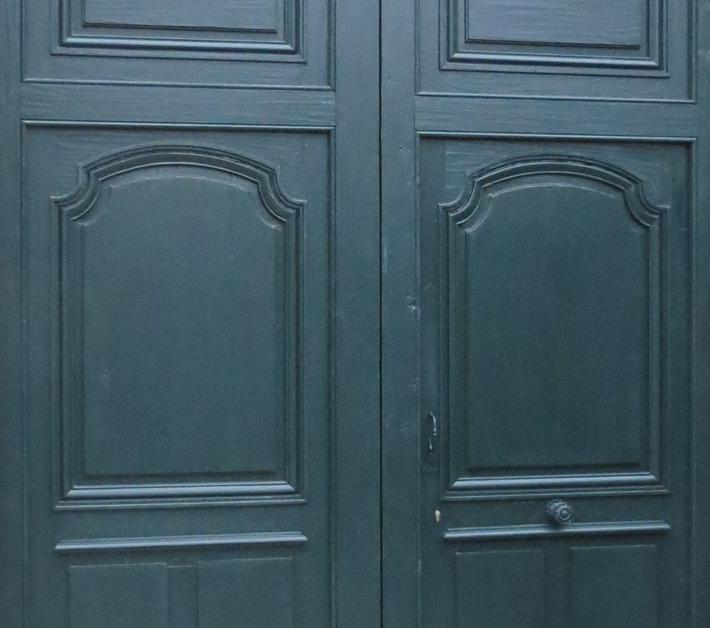 Porte Évécher Langres - Détail