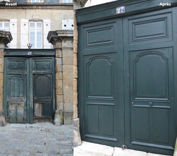 Langres - Avant/après