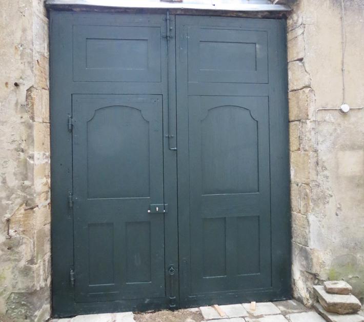 Porte Évécher Langres - côté cour