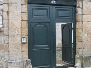 Porte cochère – Ancien Évêché