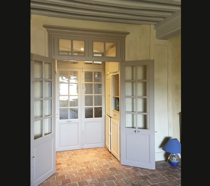 Portes vitrées anciennes